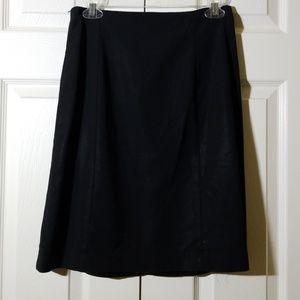 Look like new Calvin Klein black skirt